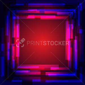 Abstract colored square frame. - PrintStocker.com