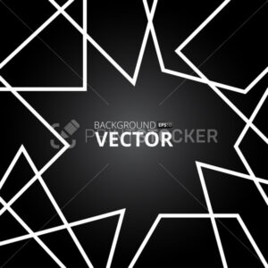 Abstract lines vector background. Vector illustration - PrintStocker.com