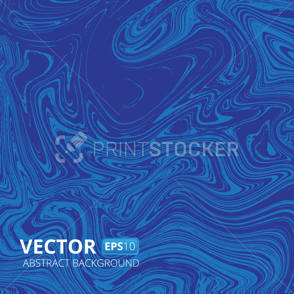 Blue marble or acrylic texture vector imitation abstract background - PrintStocker.com