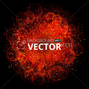 Bokeh Explosion. colorful Abstract Background. Vector Effects - PrintStocker.com